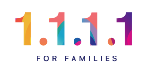 Cloudflare for families logo