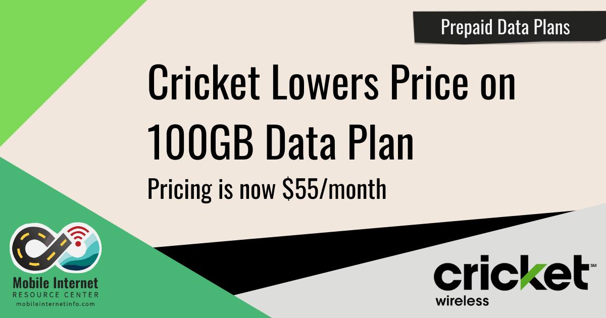 cricket 100gb plan pricing change 1