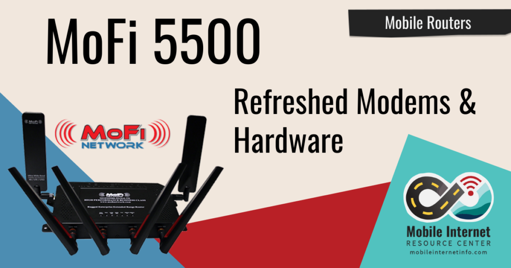 mofi 5500 mobile router new modems hardware 5g