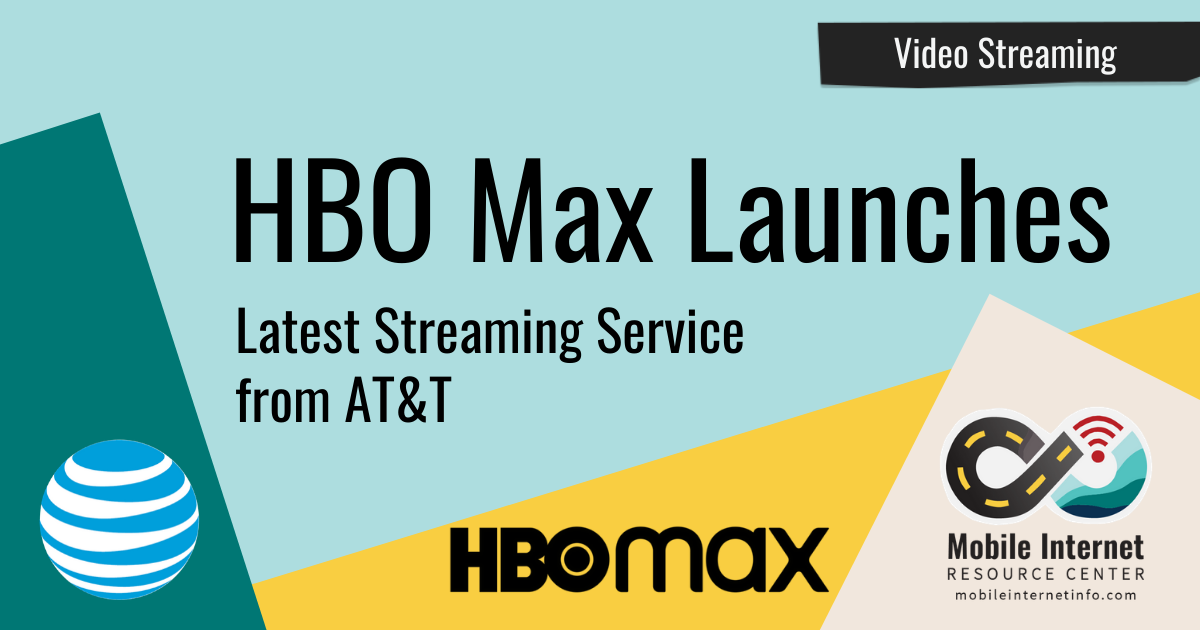 AT&T Launches HBO Max Streaming Service Header