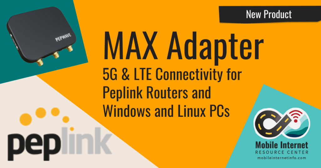 news header pepwave max adapter usb modem 5g for routers and windows linus pc
