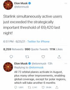 starlink 69420