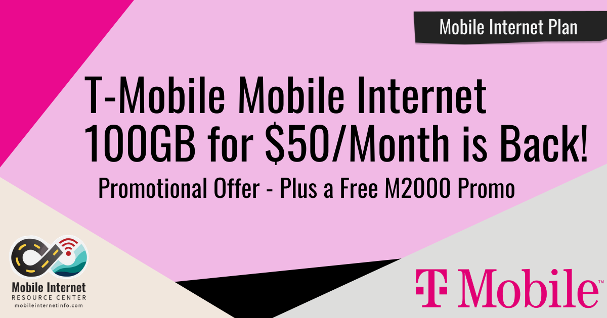 t mobile 100gb for 50 is back