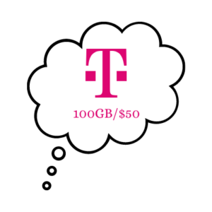 t mobile 100gb50 thoughts
