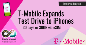 t mobile test drive iphone 1