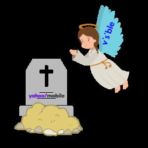 yahoo mobile shut down visible angel