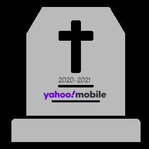 yahoo mobile shutdown