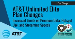 att unlimited elite changes