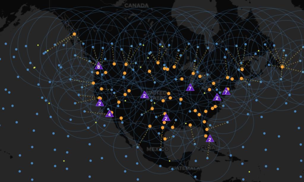 starlink map july 2021