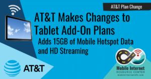 ATT Plan Changes