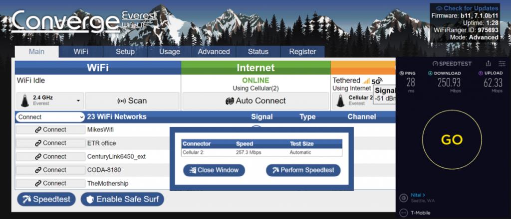 Wifiranger beta firmware update b11