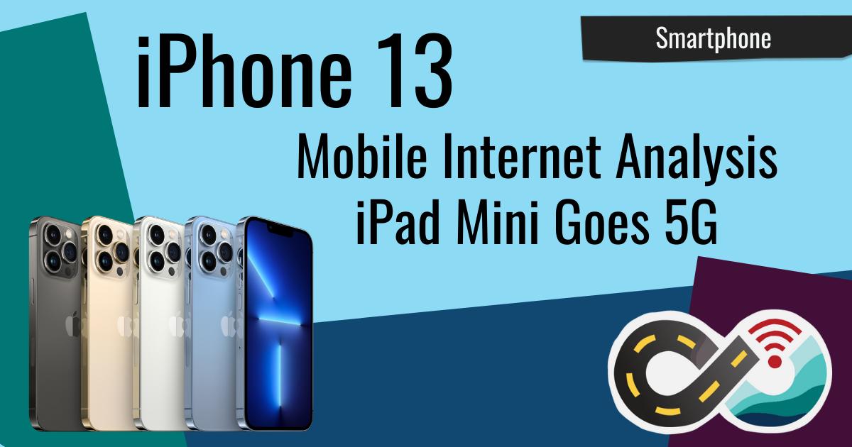iphone 13 modem analysis ipad mini 5g
