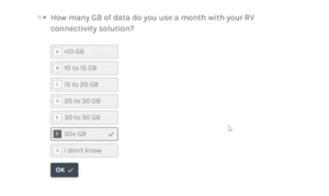 starlink RV survey