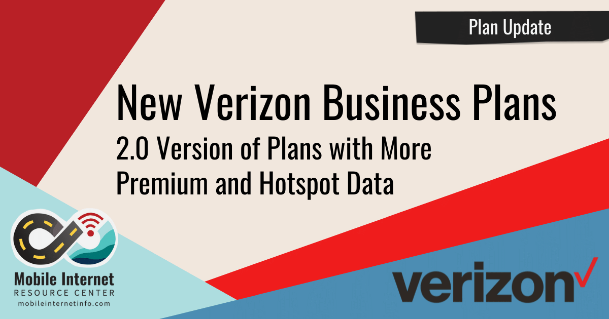 Verizon 2.0 Business Plans
