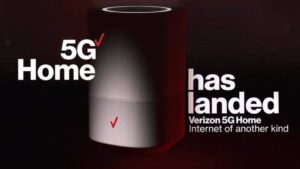 Verizon 5G home internet service promotion photo