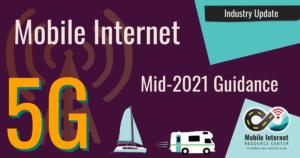 5g mobile internet 2021 rv boat industry update
