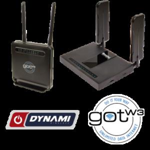 Gotw3 and Dynami Wireless Proprietary Routers
