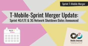 merger lte 3g end dates sprint story