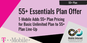 55+ Essentials Plan T-Mobile