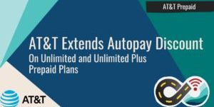 AT&T Prepaid Autopay Discount