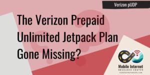 Verizon pUDP has gone missing