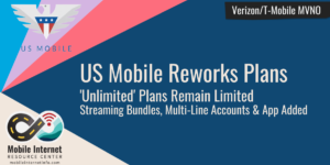 US Mobile Reworks Plans Adds Streaming Bundles