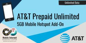 att unlimited prepaid mobile hotspot