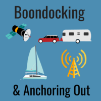 boondocking anchoring out mobile internet