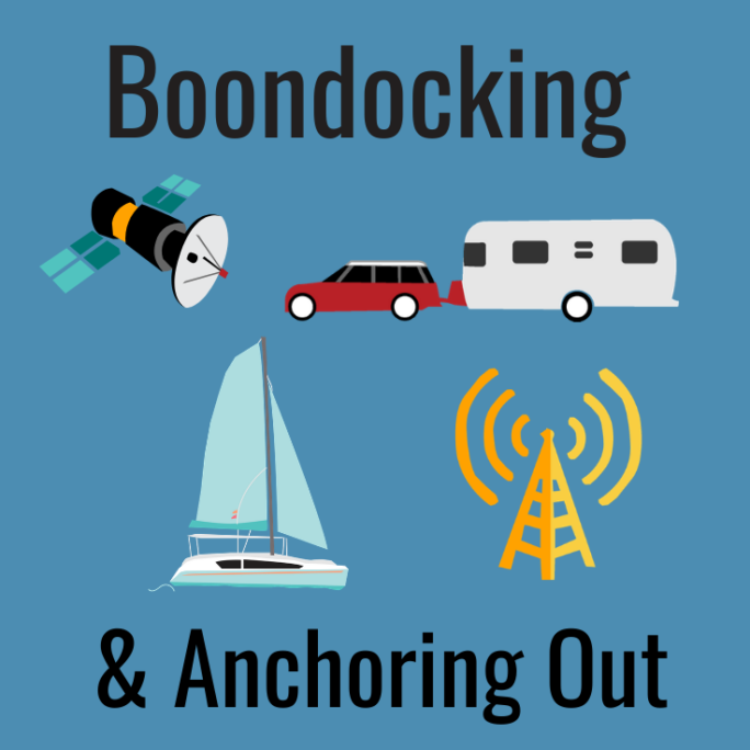 Boondocking and Anchoring Out Mobile Internet Guide