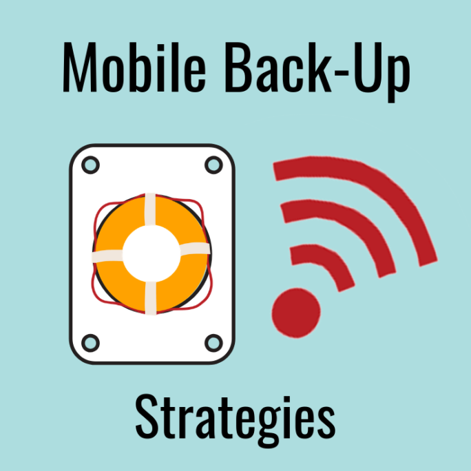 Managing Back-Ups over Mobile Internet Guide