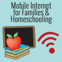 mobile internet for families and homeschooling