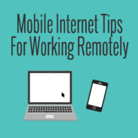 mobile internet tips for working remotely rv boat