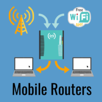 mobile routers cell wifi