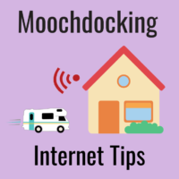 moochdocking boondockers welcome internet tips