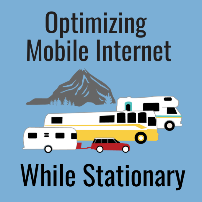 optimizing mobile internet for stationary