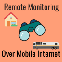 remote monitoring mobile internet rv boat