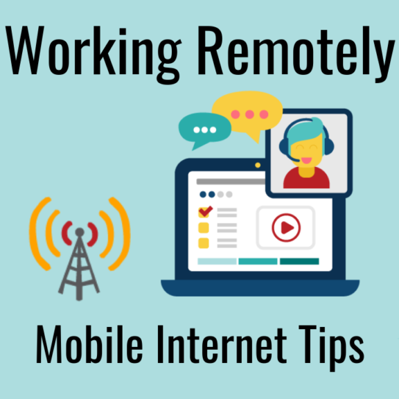 remote work over wireless mobile internet rv
