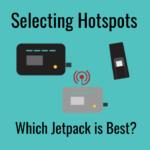 selecting hotspots jetpack mifi cellular data