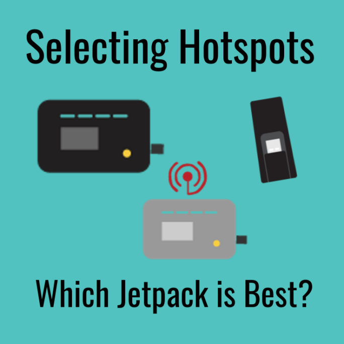 selecting hotspots jetpack mifi cellular data