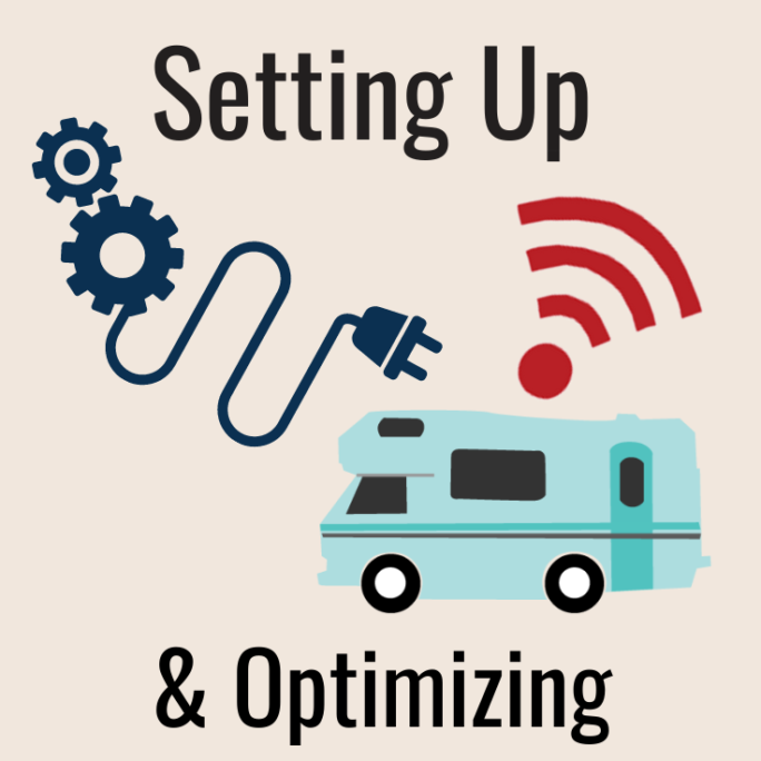 setting up and optimizing mobile internet