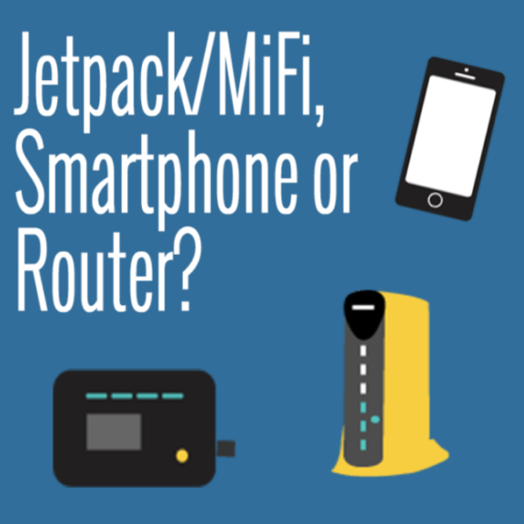 smartphone or jetpack