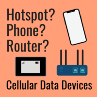 smartphone router hotspot cellular devices