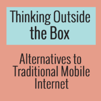 Alternatives to Traditional Mobile Internet Guide