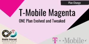 T-Mobile Magenta Plan Announcement header