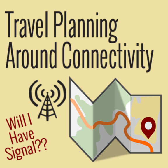 travel planning around signal mobile internet