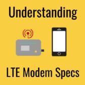 understanding lte modem specs