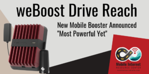 weBoost Drive Reach mobile cellular booster announced