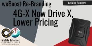 weboost drive x rebranding