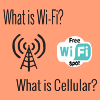what is wifi what is cellular